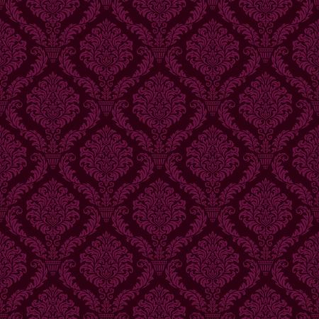 luxury ornamental background. purple Damask floral pattern. Royal wallpaper. Stok Fotoğraf - 81005340