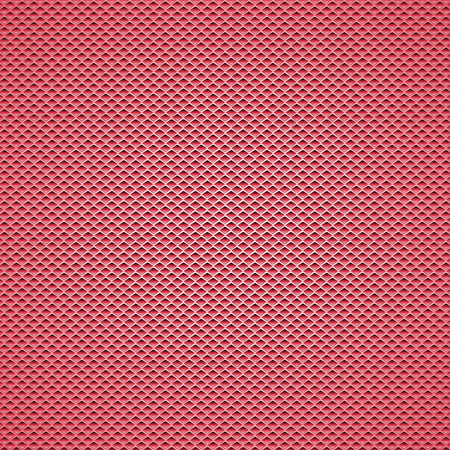 Red carbon fiber background Seamless Patterns. Vector Illustration