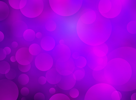 Abstract purple circular bokeh background