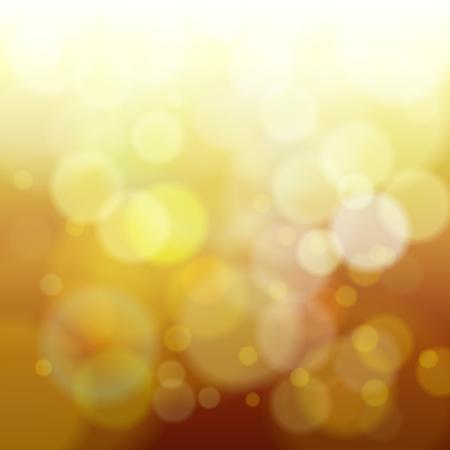 abstracte gele lente wazig achtergrond vectorillustratie Stock Illustratie