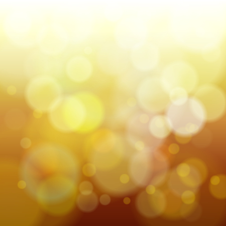 abstract yellow spring blur background vector illustration Illustration