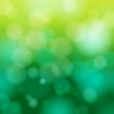 abstracte groene lente wazig achtergrond vectorillustratie