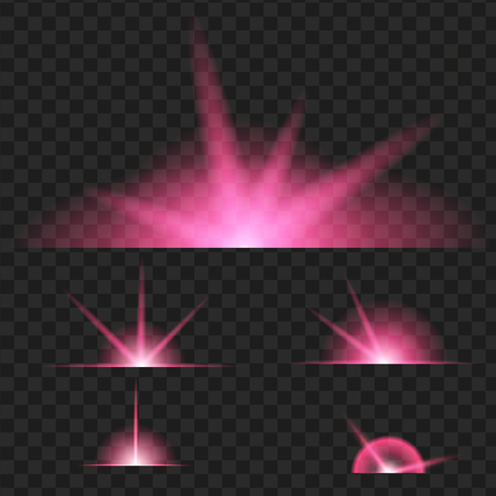 abstract purple spring blur background vector illustration