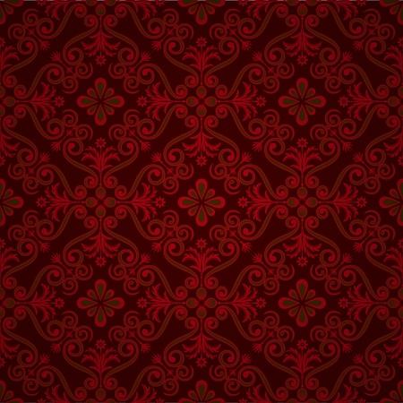 luxury ornamental background. Damask floral pattern. Royal wallpaper.