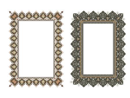 Quadro elegante quadrado ... ilustração vetorial. Foto de archivo - 81123334