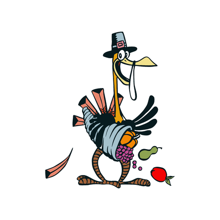 goose cartoon character illustration vector,