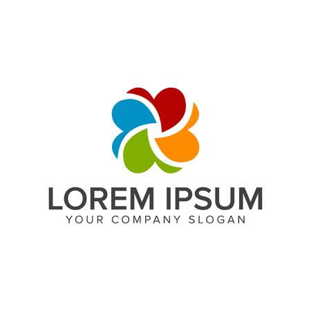 Media capture logo design concept template Ilustração