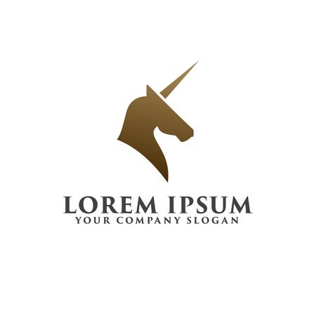 horse logo design concept template Stok Fotoğraf - 82888349