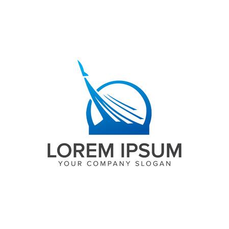 Modello di concetto di progettazione logo Archivio Fotografico - 82888510