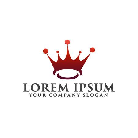 crown logo. Gift logo design concept template Stock Vector - 82889744