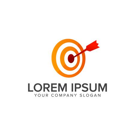 Logo di freccia di dardo di logo di marchio di marchio . Modello di progettazione logo di progettazione Archivio Fotografico - 82889243
