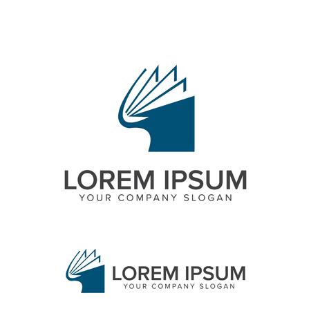 Livre logo éducation modèle de conception de l & # 39 ; éducation template Banque d'images - 83313063