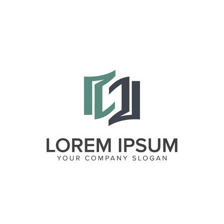 Letter s educatie logo. Boek logo ontwerp concept sjabloon Stock Illustratie