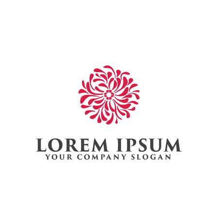 Bloem decoratie logo ontwerpsjabloon concept.