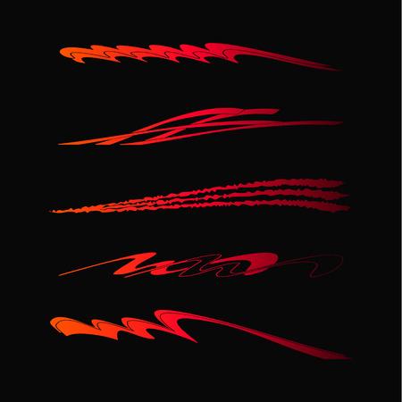 車、オートバイ レース車両グラフィック、ビニール ・ デカール