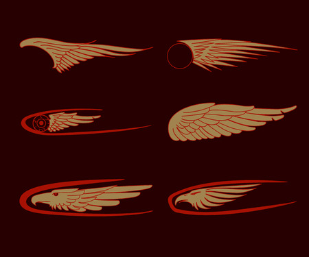Coche, alas de motocicleta, gráficos de vehículos de carreras, vinilos y calcomanías