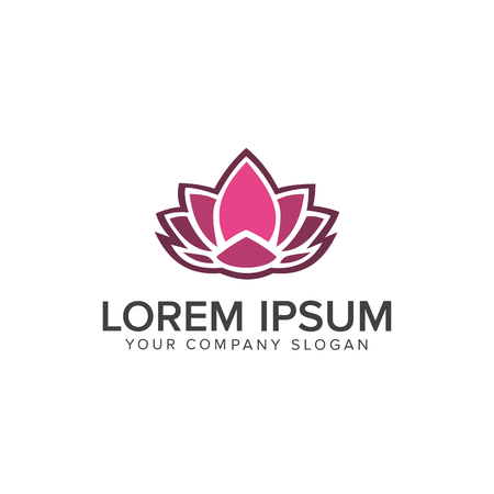 Lotus Logo,Lotus flower logo,Beauty logo,Fashion logo,Vector Logo Template