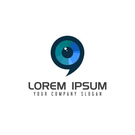 Modello di progettazione di logo di progettazione di logo di auto