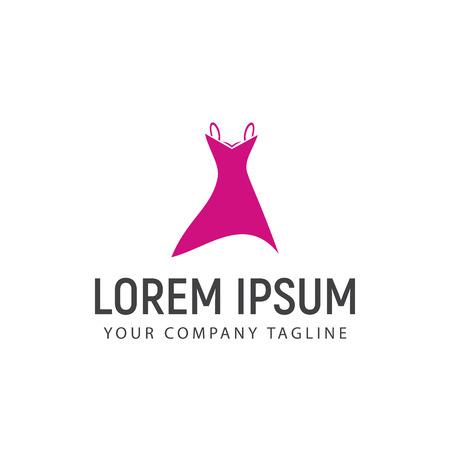 women Clothes logo design concept template