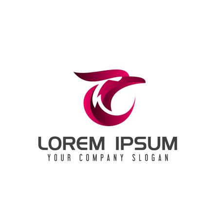 Eagle logo design concept template