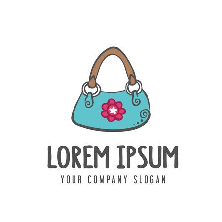 women bag accessories logo. design concept template