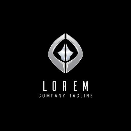 Lettera G metallo logo design modello concetto Archivio Fotografico - 84733864