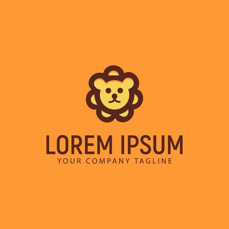 Dog Logo. minimalist design concept template