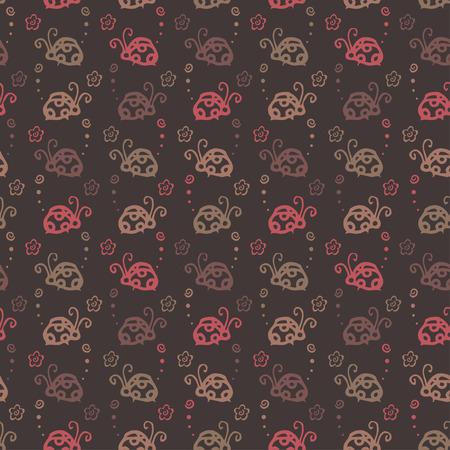 Insetto sfondo colorato pattern Archivio Fotografico - 87125277