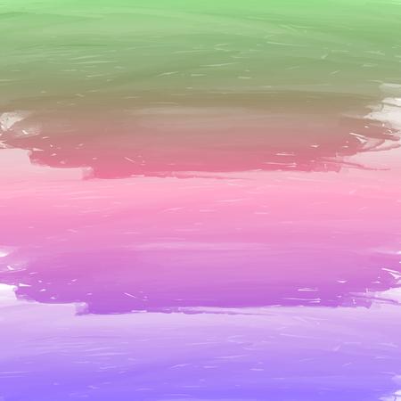 パステル カラーと水彩の背景