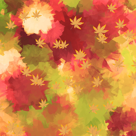 A water color autum background
