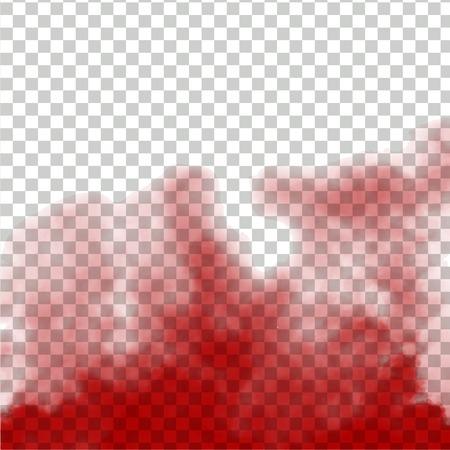 A smoke transparent background
