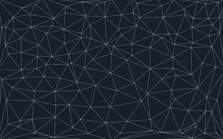 low poly background with connecting dots and lines