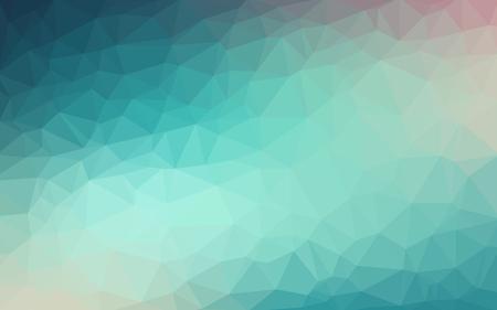 밝은 파란색 벡터 낮은 폴 리 크리스탈 배경. 다각형 디자인 패턴. 낮은 폴 리 그림 배경.