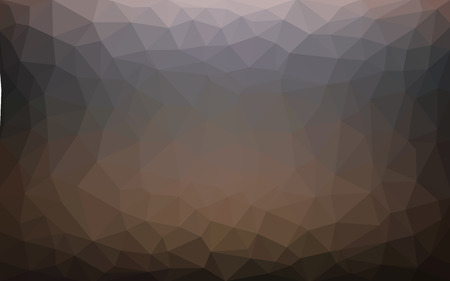 Light dark vector Low poly crystal background. Polygon design pattern. Low poly illustration background. Illustration