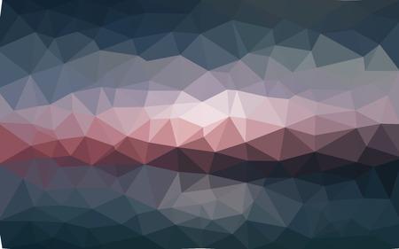 Light dark vector Low poly crystal background. Polygon design pattern. Low poly illustration background. Illustration