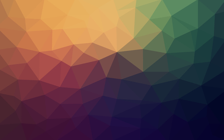 Light retro vector Low poly crystal background. Polygon design pattern. Low poly illustration background.