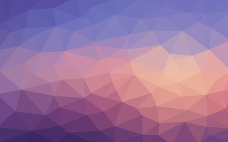Light blue purple vector Low poly crystal background. Polygon design pattern. Low poly illustration background.