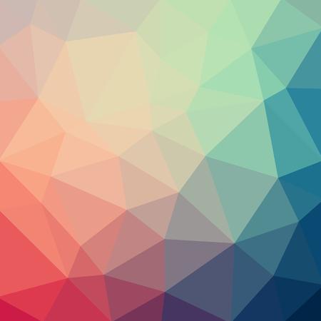 라이트 블루 레드 벡터 낮은 폴 리 크리스탈 배경. 다각형 디자인 패턴. 낮은 폴 리 그림 배경.