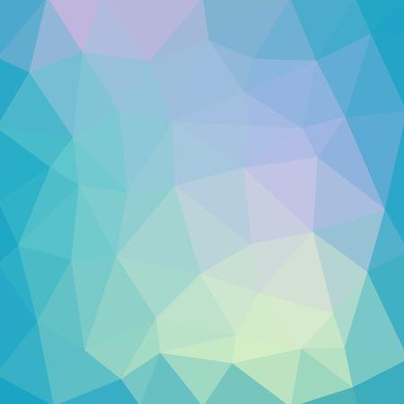 Lichtblauwe vloeiende vector Lage polykristalachtergrond. Veelhoek ontwerppatroon. Lage polyillustratieachtergrond.