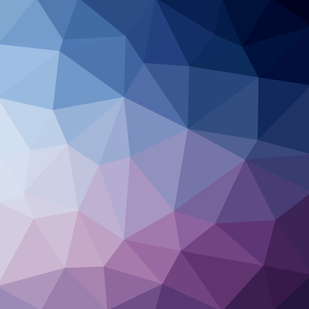 Light blue dark vector Low poly crystal background. Polygon design pattern. Low poly illustration background.