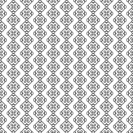 Naadloos de decoratie abstract vector van de patroonlijn ontwerp als achtergrond Stock Illustratie