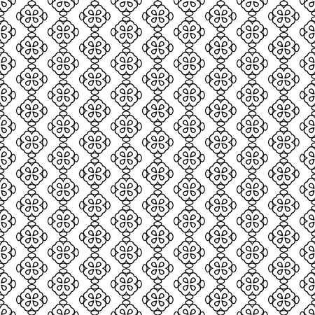 Seamless pattern line decoration abstract vector background design Imagens - 90158163