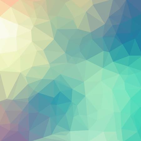 밝은 파스텔 색상 벡터 낮은 폴 리 크리스탈 배경. 다각형 디자인 패턴. 낮은 폴 리 그림 배경. 일러스트