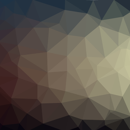 low poly black triangles polygons grey geometry Illustration