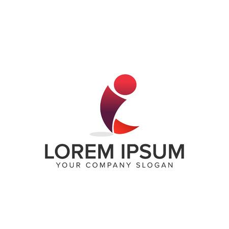 Lettre I logo