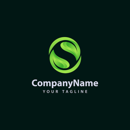 Letter S logo / symbol - vector icon Stock Illustratie
