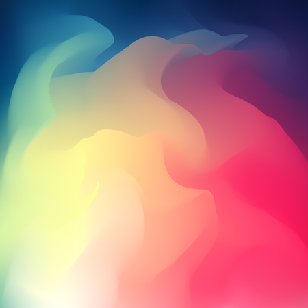 Abstract Creative Fluid multicolored blurred background