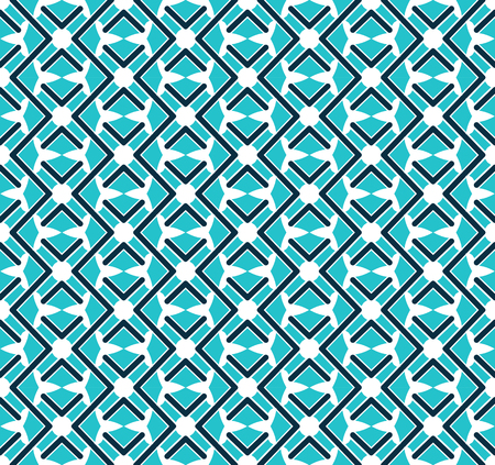 Abstract seamless ornament pattern. Vector illustration.  イラスト・ベクター素材