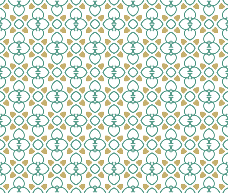Abstract seamless ornament pattern. Vector illustration. Illustration