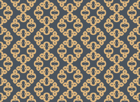 Abstract seamless ornament pattern. Vector illustration. 版權商用圖片 - 100382547